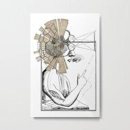 mindbody Metal Print