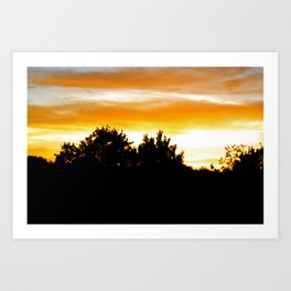 Sunset 5 Art Print
