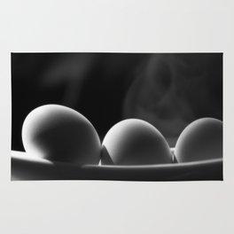 Eggs for breakfast Rug