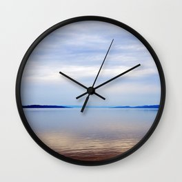 Matapedia River Mouth Wall Clock