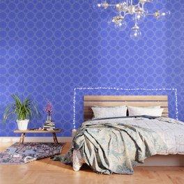 Periwinkle Blue Color Burst Wallpaper