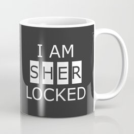 I AM SHERLOCKED Coffee Mug