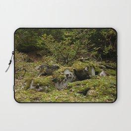 Mossy Rocks Laptop Sleeve