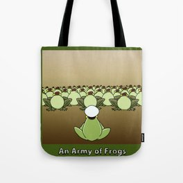AN ARMY OF FROGS Tote Bag