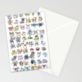 Pokémans! 151 Lazy-Drawn Pocket Monsters ( Stationery Cards