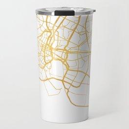 BANGKOK THAILAND CITY STREET MAP ART Travel Mug