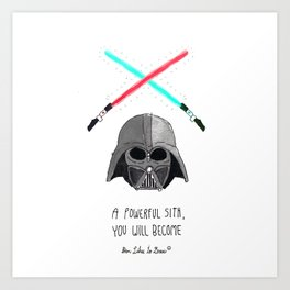 Sith Brotherhood of Darkness Art Print