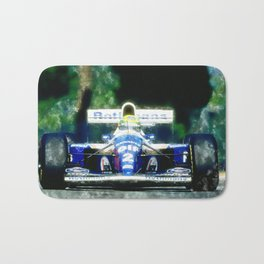 Ayrton Senna, Willams Bath Mat