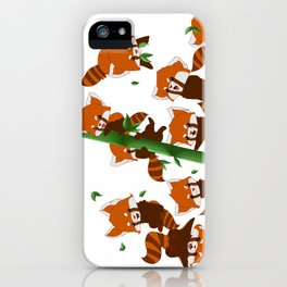 PandaMania iPhone Case