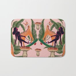 Deer to skate Bath Mat