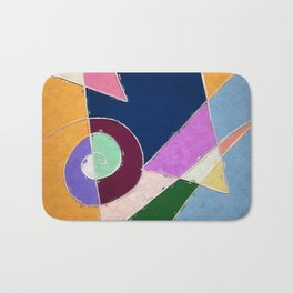 abstract window to space Bath Mat