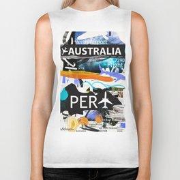 PER Perth Airport code Biker Tank
