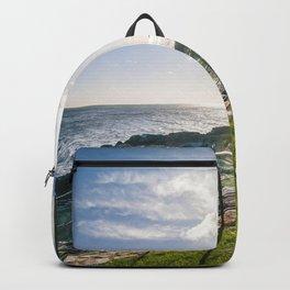 Irish landscape Backpack