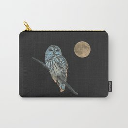 Owl, See the Moon Carry-All Pouch