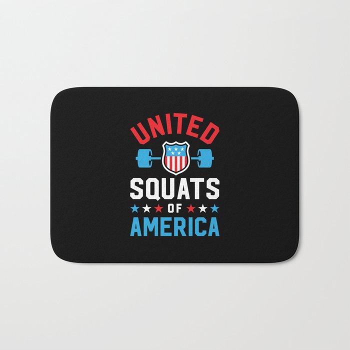 United Squats Of America v2 Bath Mat