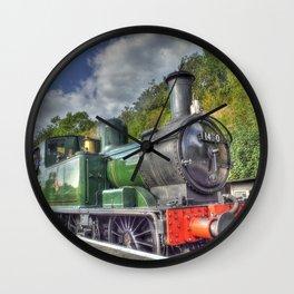 Steam Train at Bewdley Wall Clock
