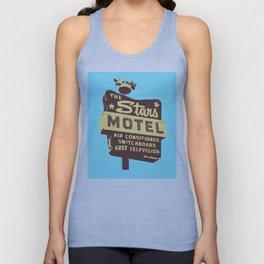Seeing Stars ... Motel ... (Blue Background) Unisex Tank Top