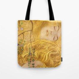 Gustav Klimt - Water Serpents, 1 (detail) Tote Bag