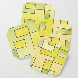 "Proto pattern n 2 ""fresh lemonade"" Coaster"