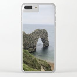 Path to Durdle Door England Clear iPhone Case