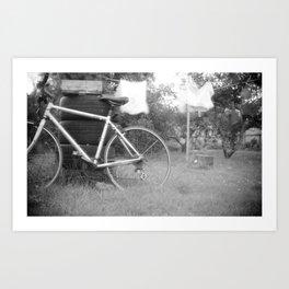 Back Yard Dreaming Art Print