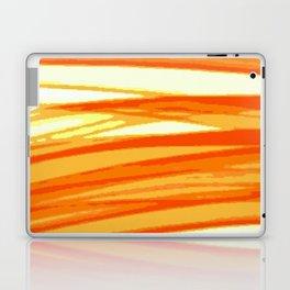 Orange Blur Laptop & iPad Skin