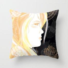 Hathor Throw Pillow
