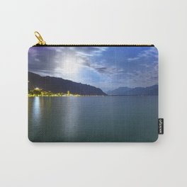 Moonlight Over Geneva Lake Carry-All Pouch