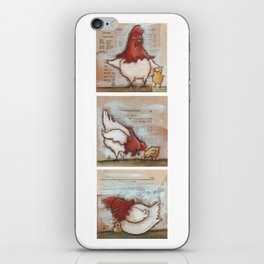 You Are So Loved Chickens - by Diane Duda iPhone Skin