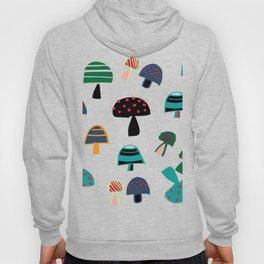 Cute Mushroom gray Hoody