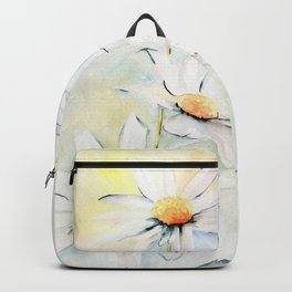 White Daisies Backpack