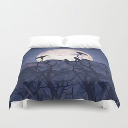 Midnight Chorus Duvet Cover