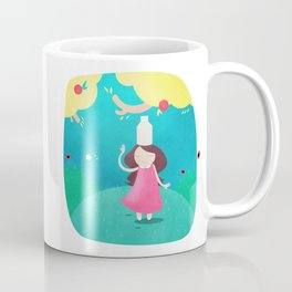 The Milkmaid and the Pot of Milk Coffee Mug