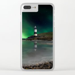 Lighting Up The Dark Clear iPhone Case