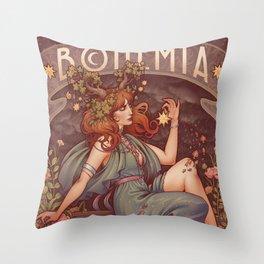 BOHEMIA Throw Pillow