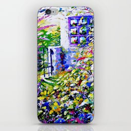 Country Garden Retreat iPhone Skin