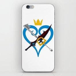 Kingdom Hearts キングダム ハーツ Keyblade Sora and Riku iPhone Skin