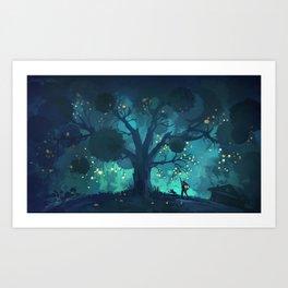 Nightfruits Art Print