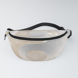 YinYang Love Beige Fanny Pack