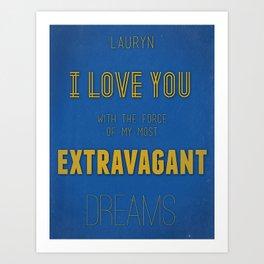 Extravagant Dreams Art Print
