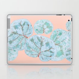 Tropical Sea Grape Leaves Laptop & iPad Skin