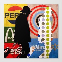 Tehos - Target market Canvas Print