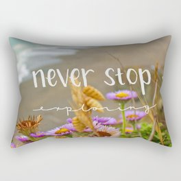 Explore Forever Rectangular Pillow