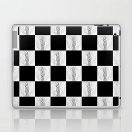 Checkerboard Pussy Laptop & iPad Skin