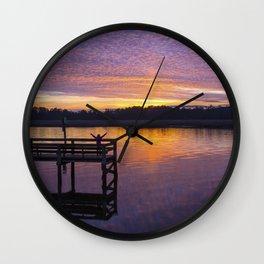 Glorious Sunset Wall Clock