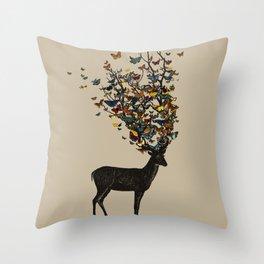 Wild Nature Throw Pillow