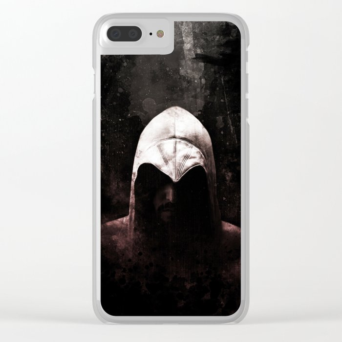 Roman Assassin Hood - Color Clear iPhone Case