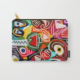 Life is beautiful street art graffiti Carry-All Pouch