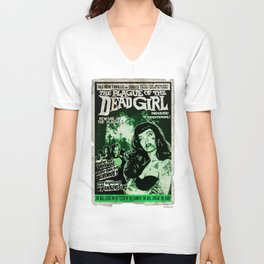 "DEAD GIRL SUPERSTAR ""THE PLAGUE OF THE DEAD GIRL"" Unisex V-Neck"