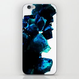 Chihuly Blue Crystal Sculpture iPhone Skin